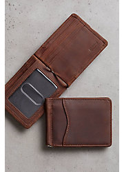Vanderbilt Leather Money Clip Wallet