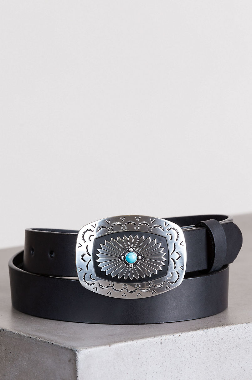 Overland Santa Rosa Leather Belt