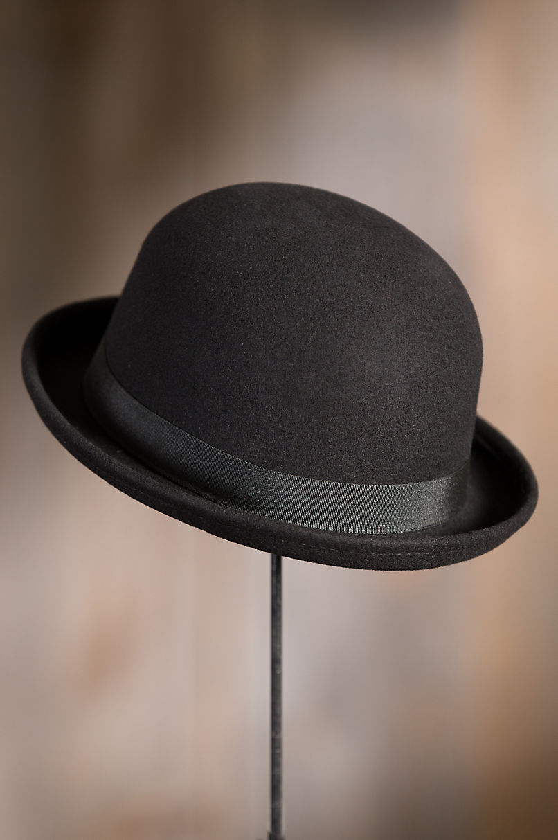561b3e61fb456 Details. Take on the world with carefree confidence in this classic bowler  hat