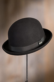 Crushable Wool Waterproof Derby Bowler Hat