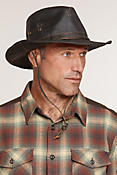Outback Shapeable Weathered Cotton-Blend Safari Hat