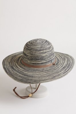 Wide-Brim Toyo Straw Hat