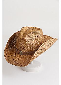 Marland Organic Raffia Cowboy Hat