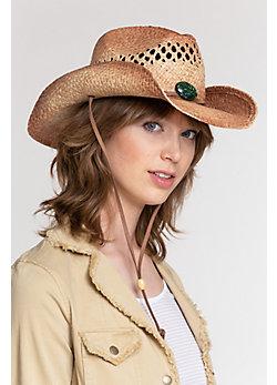 Women's Mojave Organic Raffia Hat