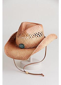 Women's Mojave Organic Raffia Cowboy Hat