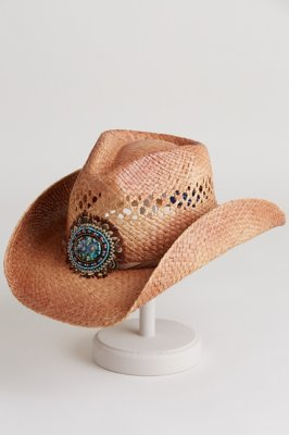 Women's Sophia Shapeable Organic Raffia Hat