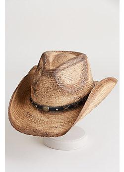 The Signal Organic Raffia Cowboy Hat