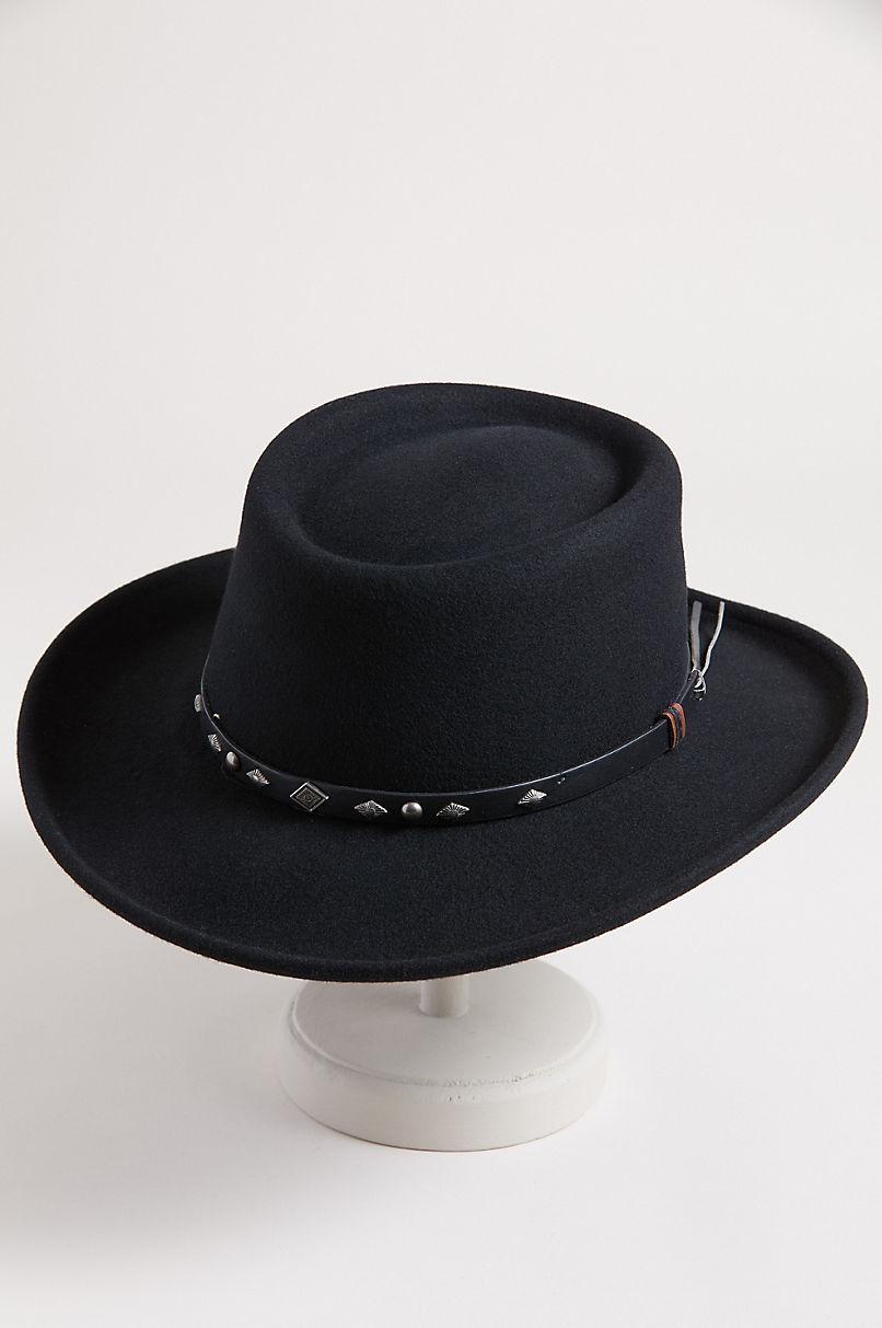 Quincy Crushable Wool Waterproof Gambler Hat