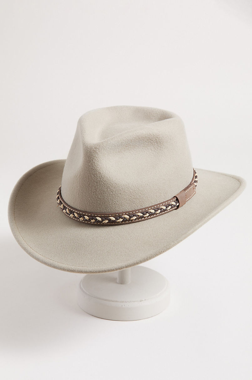 Jasper Crushable Wool Waterproof Outback Hat