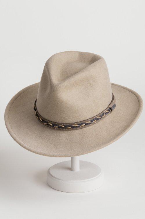 Jasper Crushable Wool Felt Waterproof Outback Hat