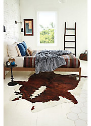 Overland Tri-Color Exotic Cowhide Rug