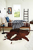 Tri-Color Exotic Cowhide Rug