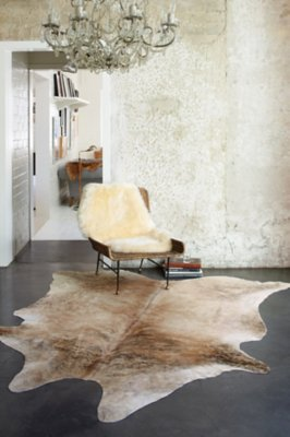 Medium Exotic Cowhide Rug