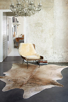 Overland Medium Exotic Cowhide Rug