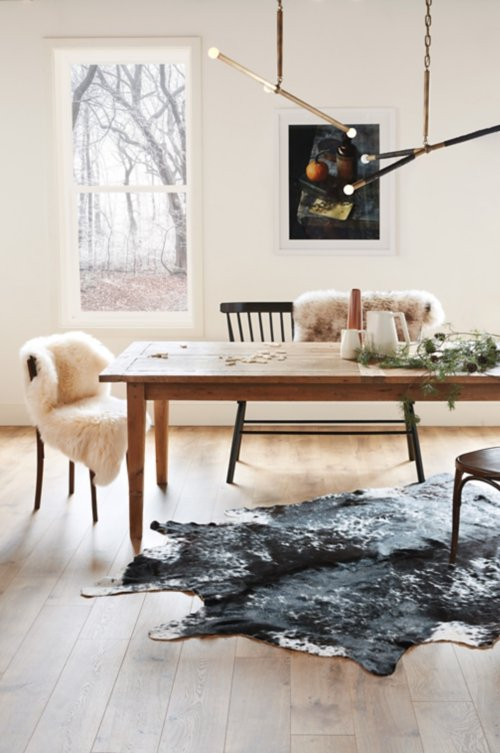 Overland Exotic Argentine Cowhide Rug