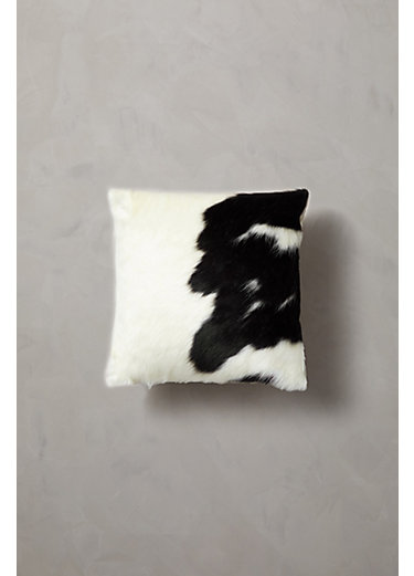 """Overland 16"""" x 16"""" Argentine Cowhide Pillow"""