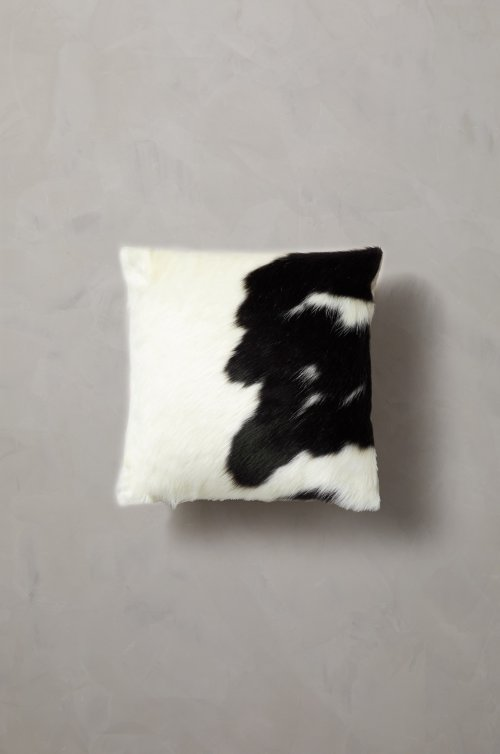 "Overland 16"" x 16"" Argentine Cowhide Pillow"