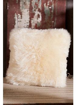 "Overland 18 x 18"" Double-Sided Australian Sheepskin Pillow"