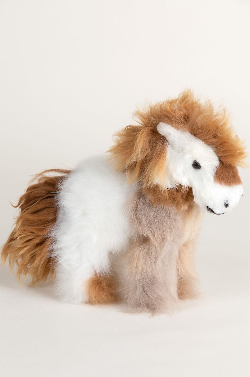 3562034e1c67 Alpaca Wool Horse - Stuffed Animals