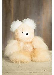 Large Alpaca Wool Teddy Bear
