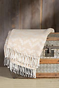 Tumi Fringed Peruvian Alpaca Wool Throw