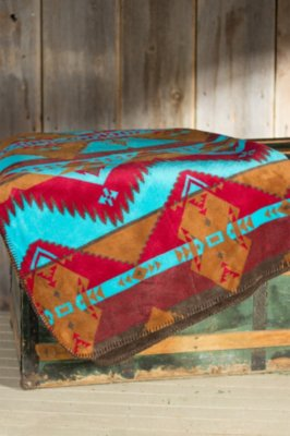 Native Journey Fleece Throw