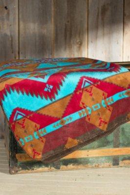 Native Journey Fleece Throw