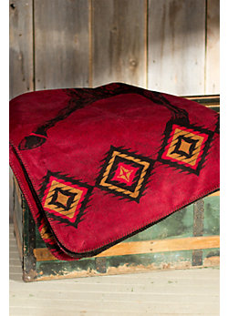 Wild Horses Fleece Throw