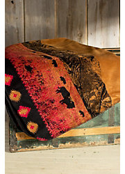 Roaming Buffalo Fleece Throw