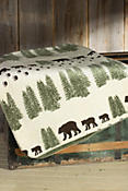 Denali Pearl Bear Fleece Throw