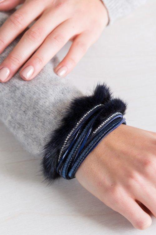 Danish Mink Fur Bracelet