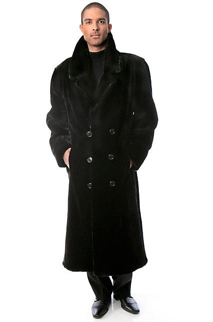 Francisco Full-Length Sheared Beaver Fur Coat | Overland