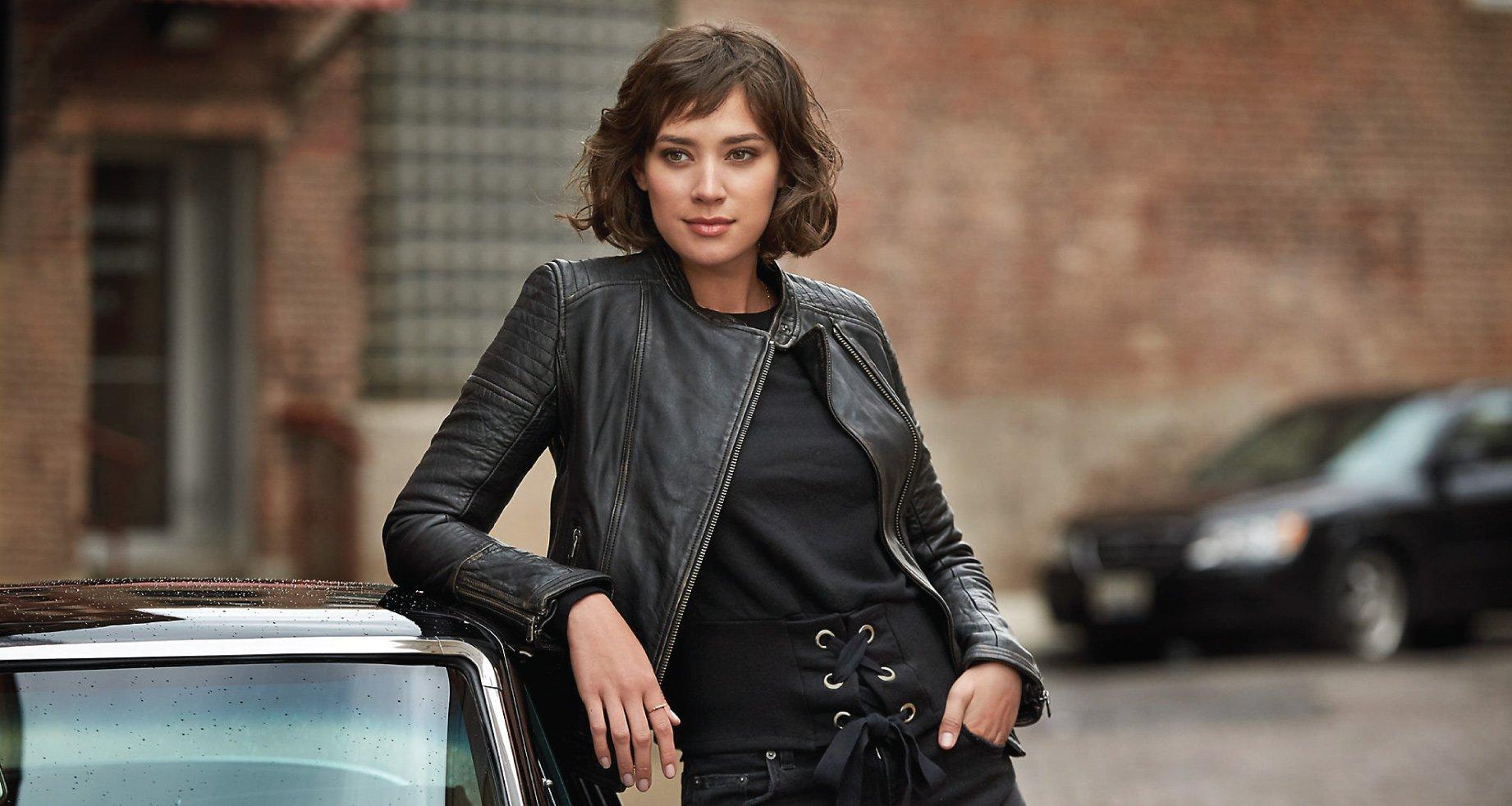 Shop Leather Coats & Jackets