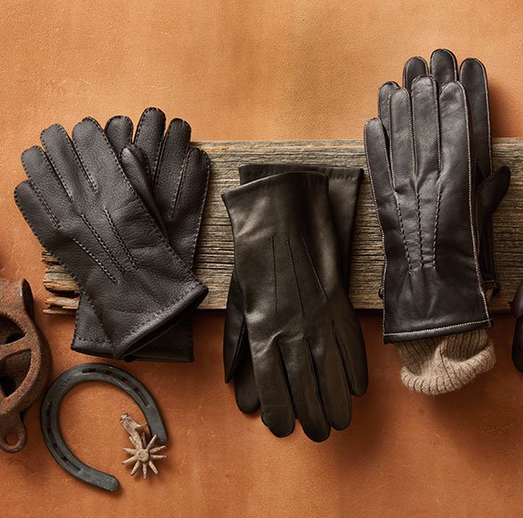 Mens gloves display