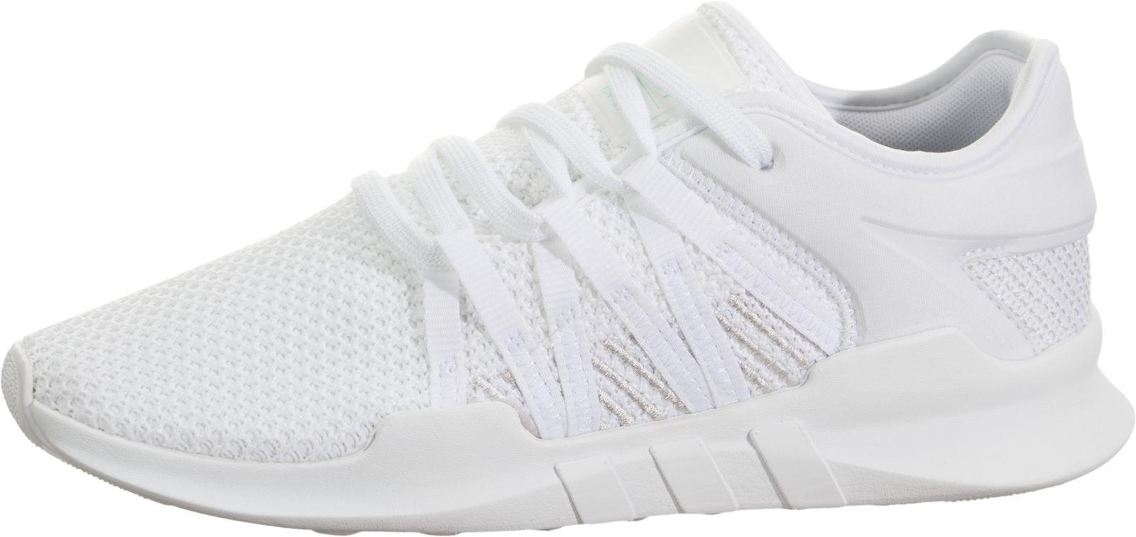 Adidas  mujer 's tamaño 6 EQT Racing ADV corriendo zapatos en blanco / gris