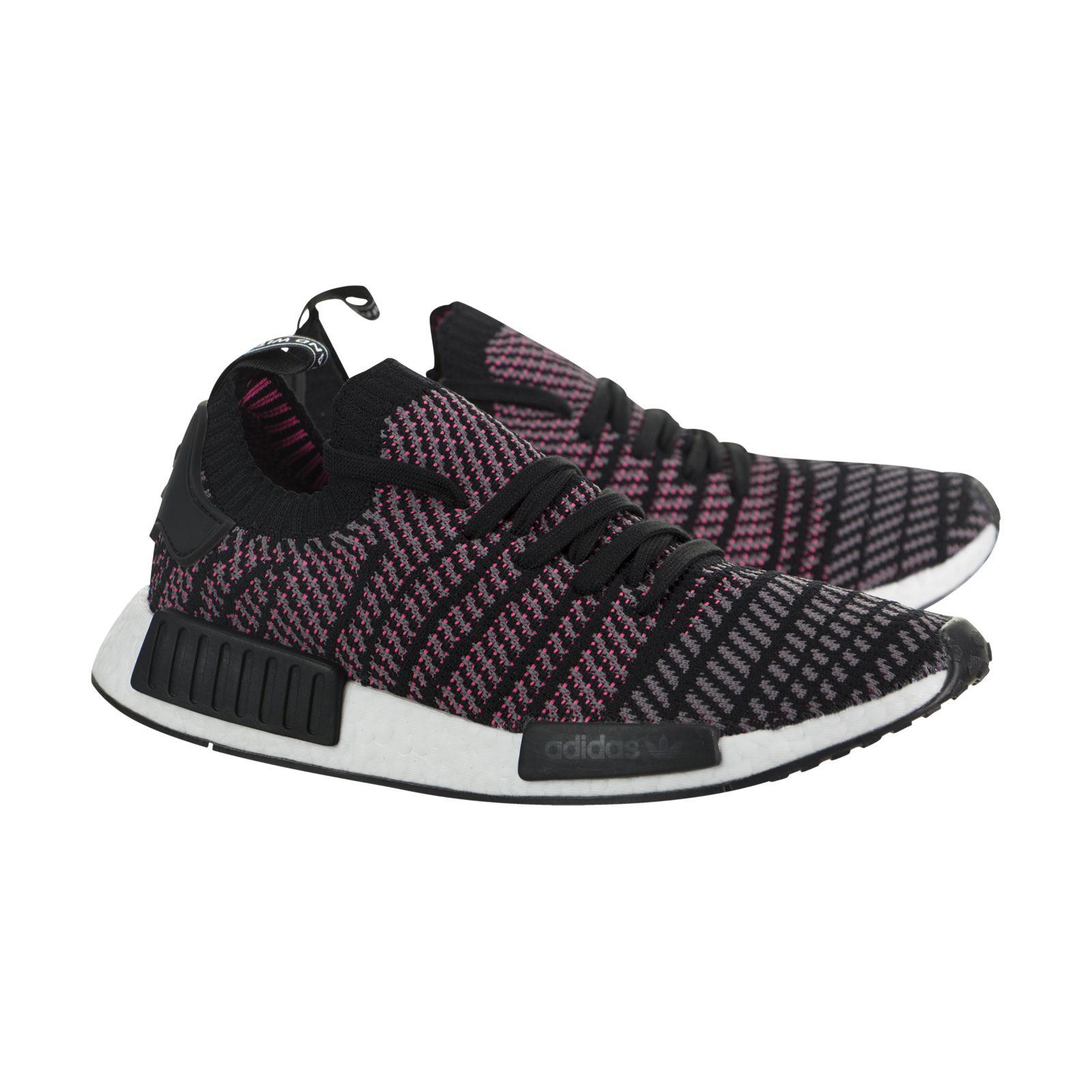Men's Adidas NMD R1 Primeknit STLT Solar Pink CQ2386