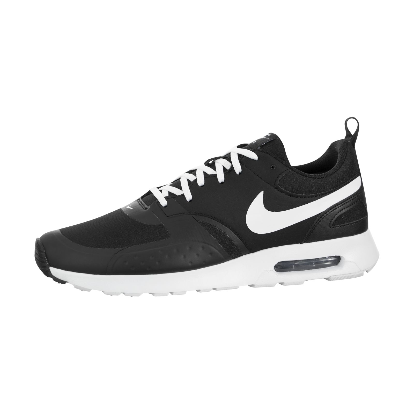 Nike Air Max Vision Mens 918230-007 Black White Athletic Running Shoes Size 10.5