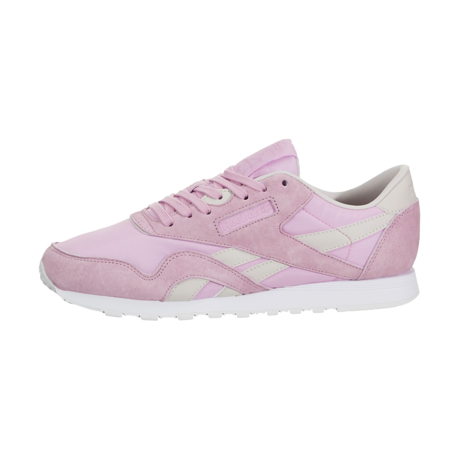 d8fac2fd5 Reebok Women's X Face Stockholm Classic Nylon Shoes Pink Vision ...