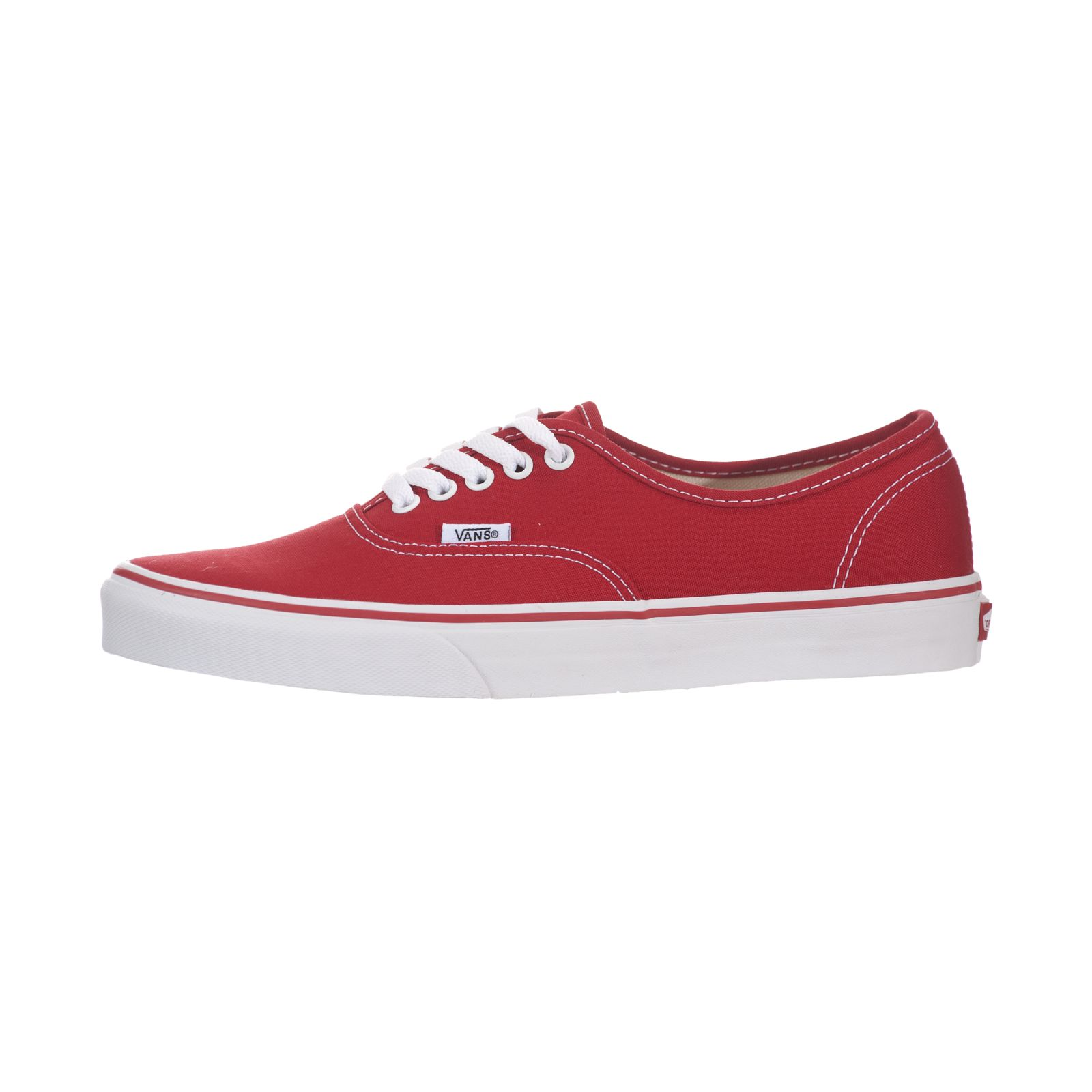 613b39cdd0 VANS Classic Authentic Red White Mens US Size 8.5 Womens 10 for ...