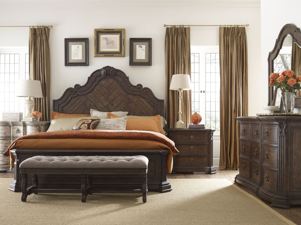 thomasville bedroom set corina panel bed thomasville furniture 13521