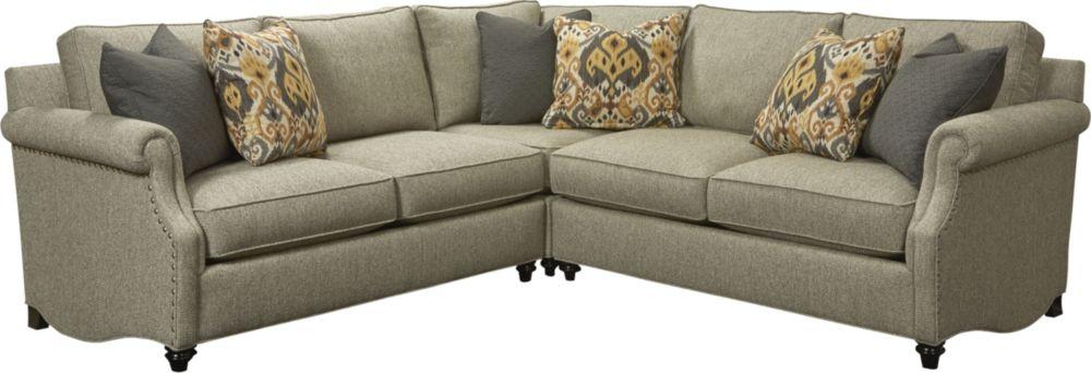 Modern thomasville sectional sofa
