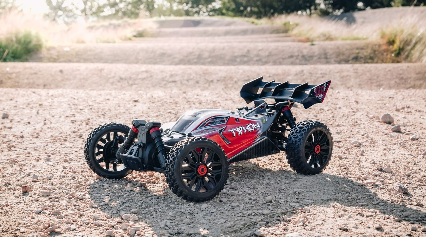 Grafik für 1/8 TYPHON 3S BLX 4x4 Brushless Buggy RTR, Black in Tower Hobbies EU
