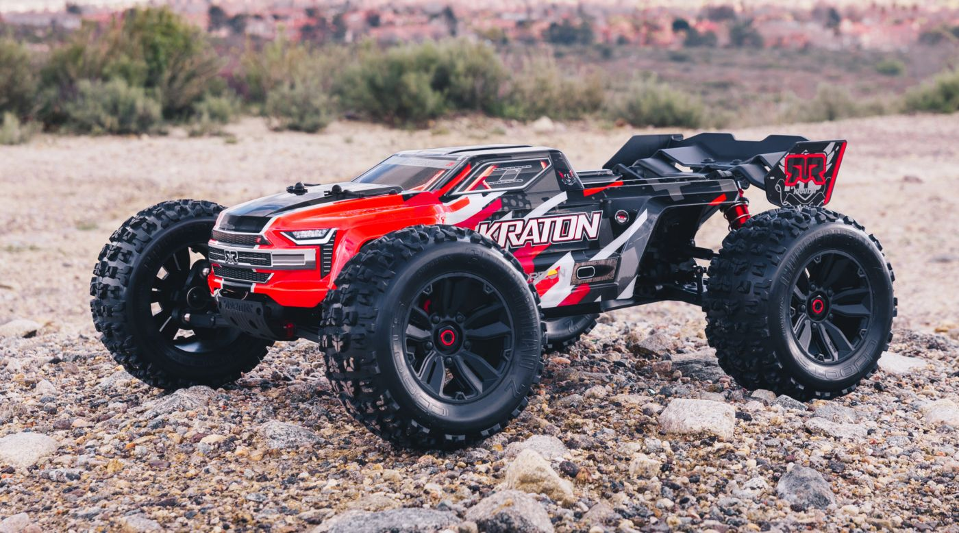Image for 1/8 KRATON 6S BLX 4WD Brushless Speed Monster Truck with Spektrum RTR, Red from Tower Hobbies EU