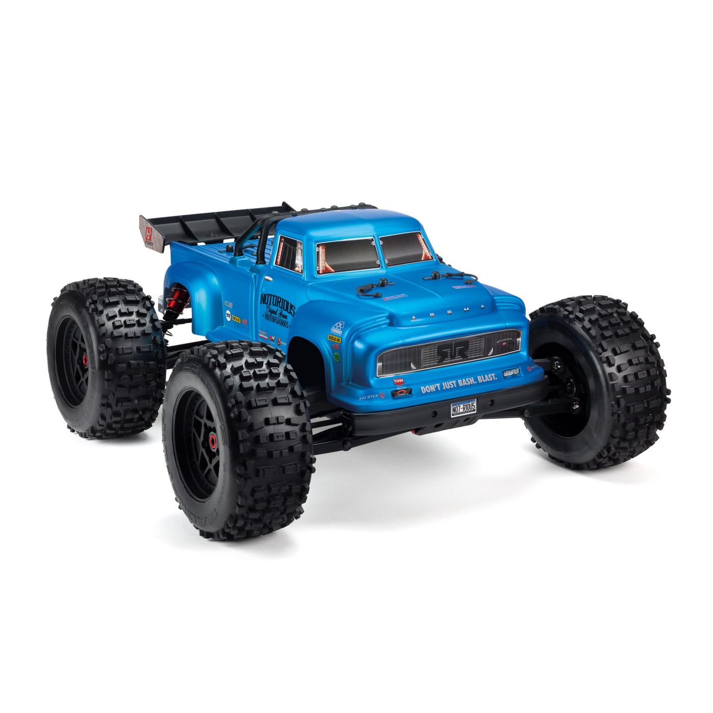 ARRMA 1/8 NOTORIOUS 6S BLX Stunt Truck RTR