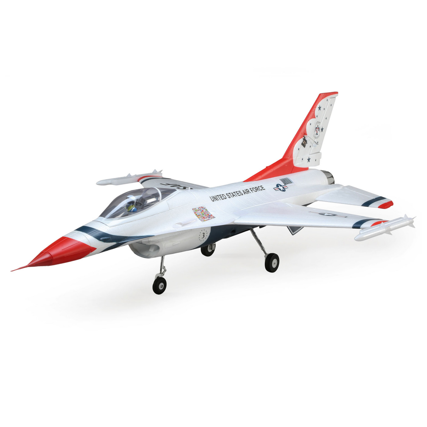 E-flite F-16 Thunderbirds 70mm EDF BNF Basic & PNP