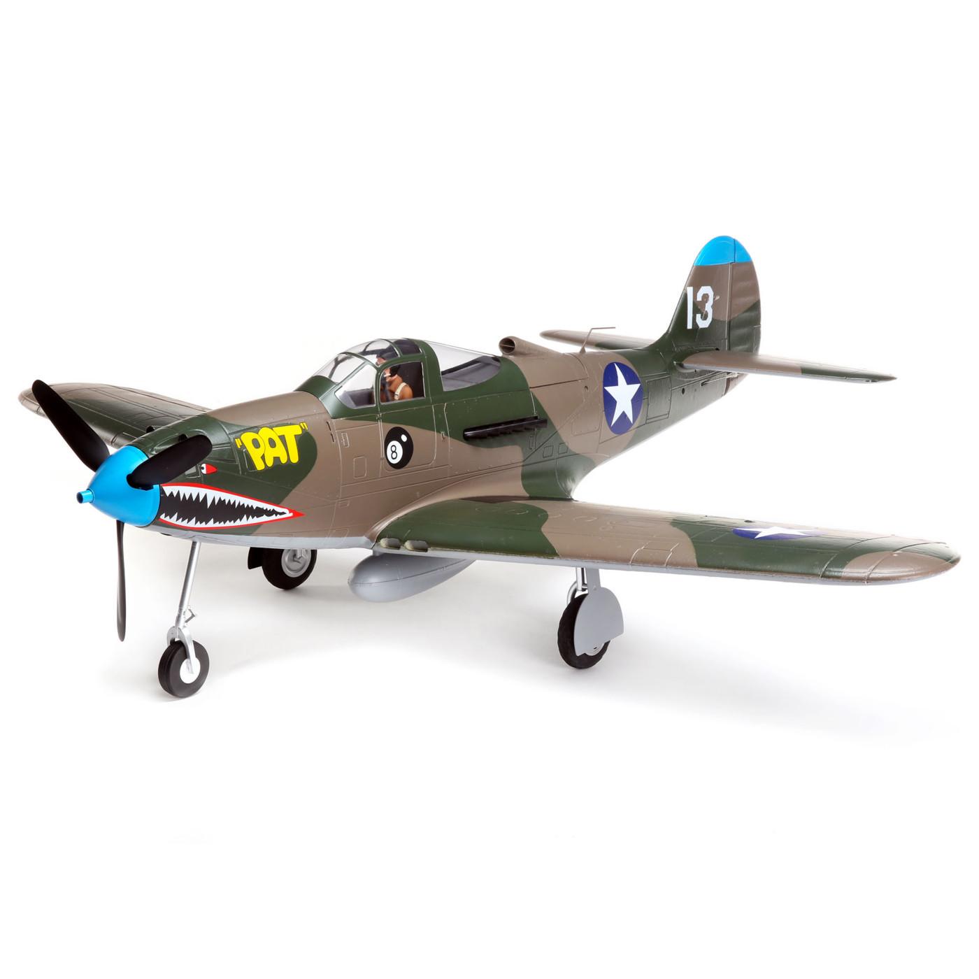 E-flite P-39 Airacobra 1.2m BNF Basic & PNP