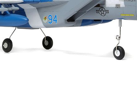 E-flite F-15 Eagle 64mm EDF PNP- Gear Options