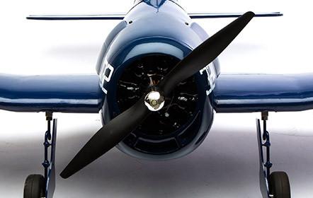 Hangar 9 F6F Hellcat 15cc ARF - Power It the Way You Want It