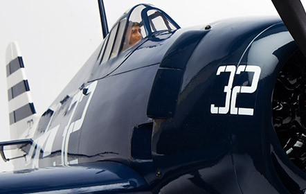 Hangar 9 F6F Hellcat 15cc ARF - Scale Detail