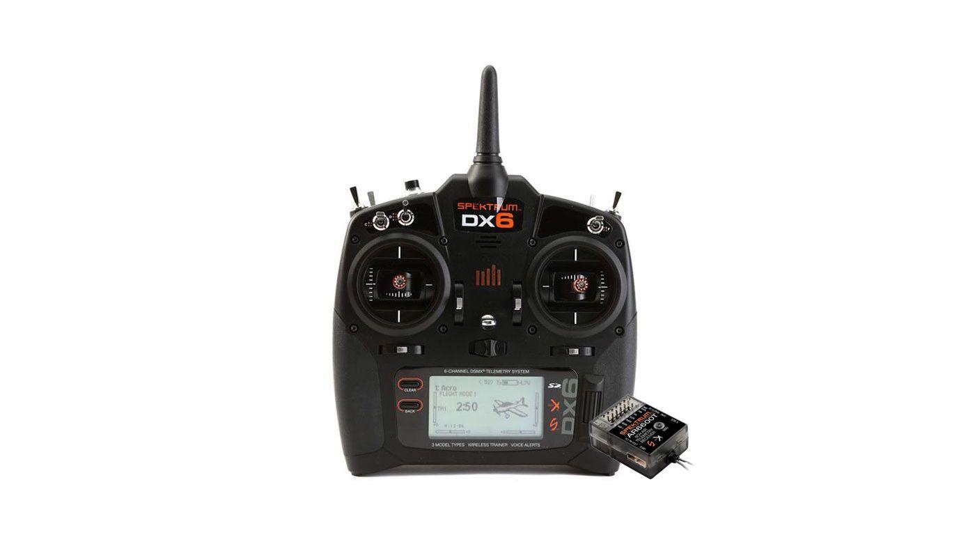 Grafik für DX6 6-Kanal DSMX Fernsteuerung G3 mit AR6600T Empfänger, Mode 2 in Tower Hobbies EU